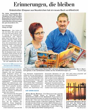 Pressestimme Saarbrücker Zeitung