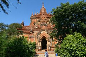 Htilominlo Tempel in Bagan