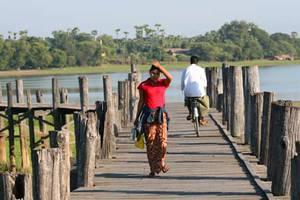 U-Bein Brücke in Amarapura
